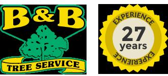 B&B Tree Service Logo in Glendora, NJ